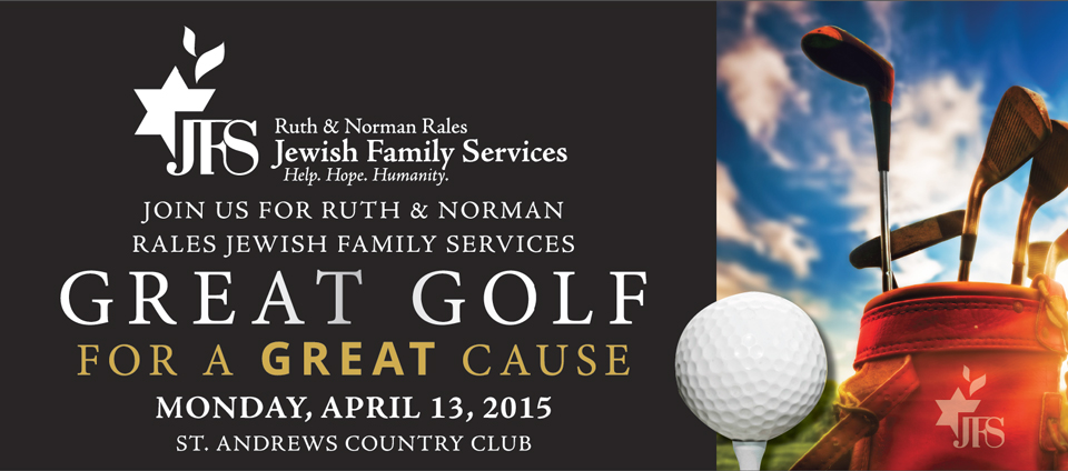 2015 GREAT GOLF FOR A GREAT CAUSE