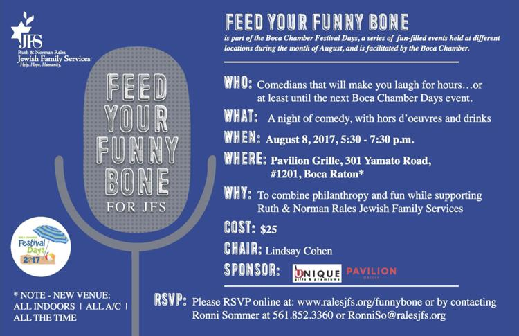 Feed Your Funny Bone for JFS