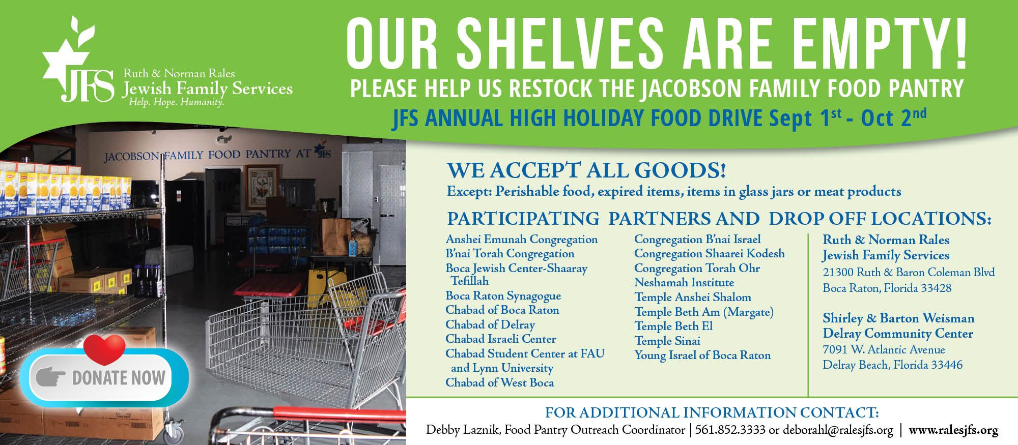 Jacobson Family Food Pantry