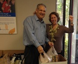 "IN THE NEWS: JFS Participates in ""Feed My Community"" Food Drive"