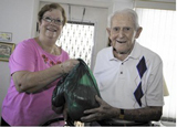 IN THE NEWS: Homebound 99 Year-Old Receives Special Rosh Hashanah Meal from JFS