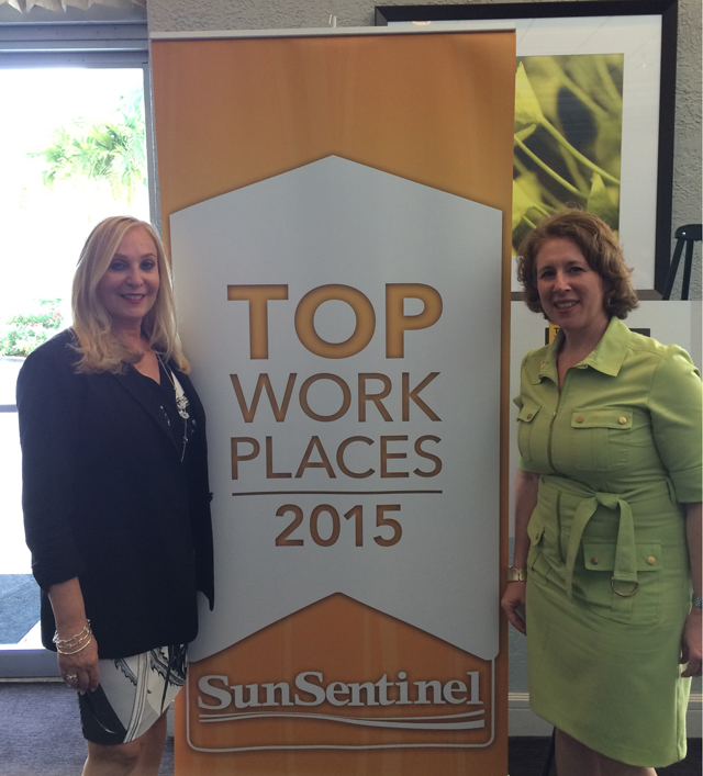2015 SOUTH FLORIDA TOP WORKPLACE