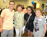 Over 100 Holocaust Survivors Attend Nosh & Nachas